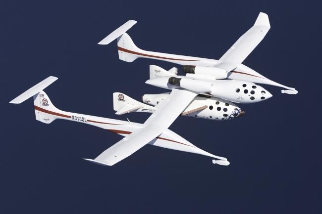 Avião da Virgin Galactic