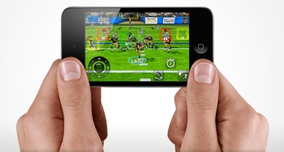 Novo iPod Touch com jogos
