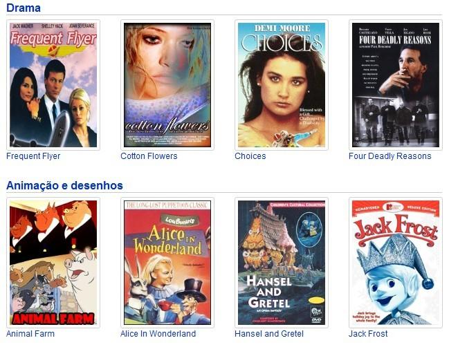 YouTube já possui filmes