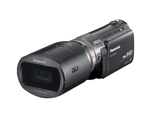 Câmera 3D da Panasonic