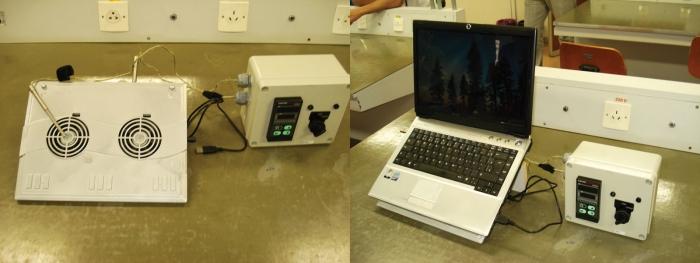 Refrigeração mais eficiente para notebooks.