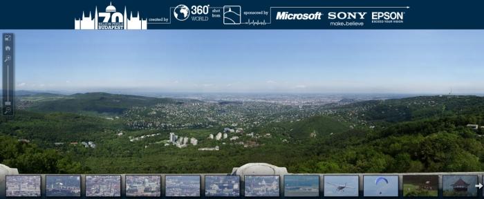 Fotografia de Budapeste com 70 bilhões de pixels.