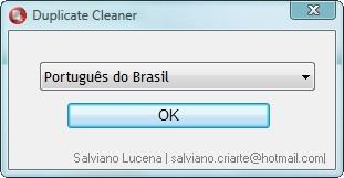 """Selecione o idioma """"Português do Brasil"""" para facilitar o uso."""