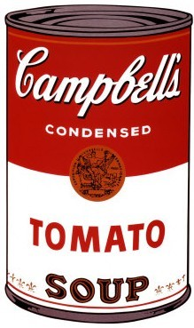 Andy Warhol Campbells Soup Can