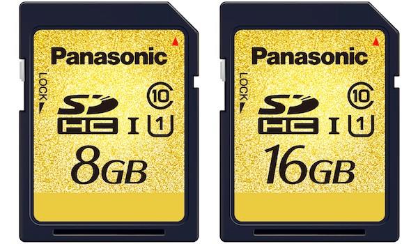 Novos cartões de até 16 GB