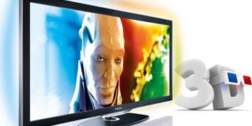 Novas séries de televisão 3D da Panasonic