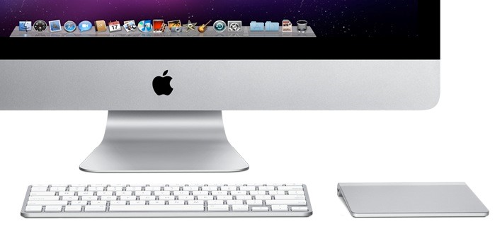 Magic Trackpad, teclado bluetooth e iMac