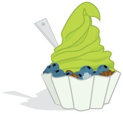 Logo do Android 2.2 Froyo.