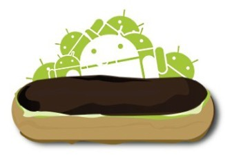 Logo do Android 2.1 Eclair.