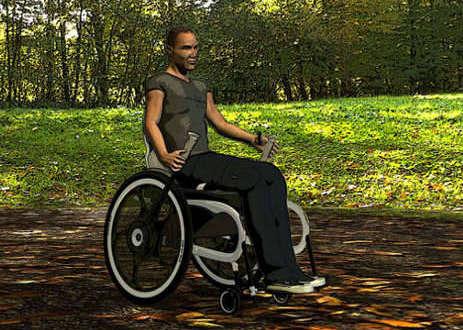 Design apresentado para cadeira futurista