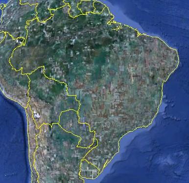 Apuração das eleições poderá ser acompanhadas pelo Google Earth