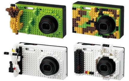 Fotografe ou brinque com uma câmera feita de LEGO 19393
