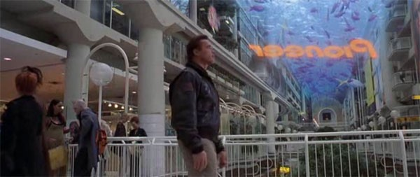 Propagandas em 3D ao ar livre devem pintar em breve num shopping perto de você