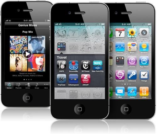 Novo iPhone 4 é lançado no Brasil.