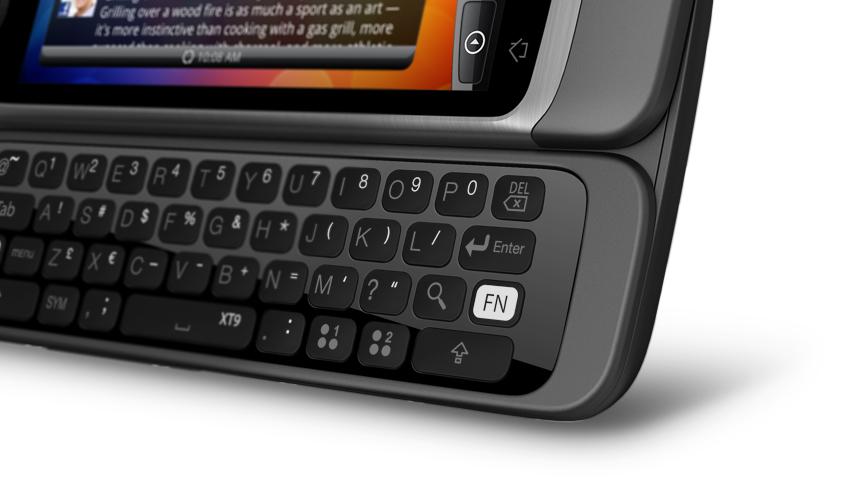 HTC Desire Z com teclado QWERTY