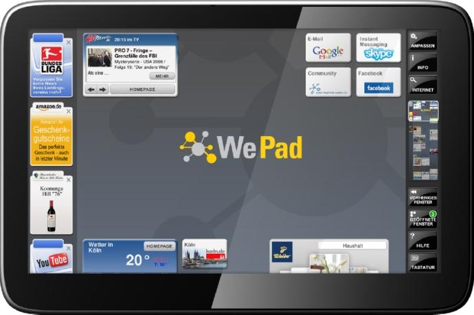 Vem aí um concorrente de peso para o iPad?