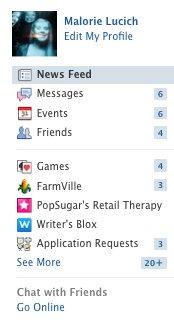 A interface do Facebook agora esconde atualizações de games