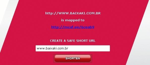 Redutor de URL