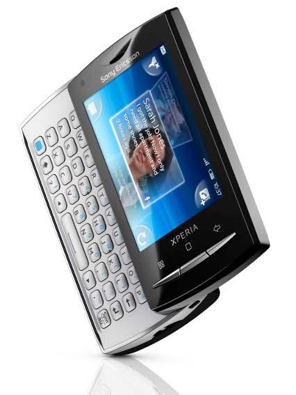 Xperia X10 Mini Pro. Divulgação: Sony Ericsson