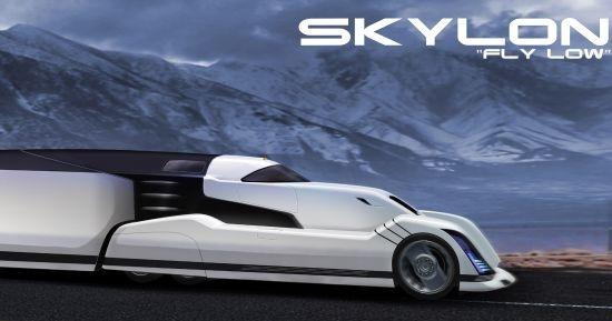 Skylon, o caminhão conceitual da Volvo.