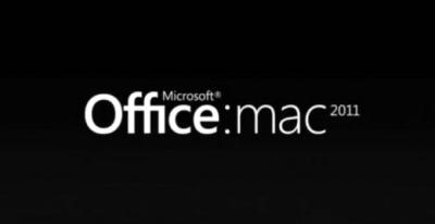 O logo do Office 2011 para Mac.