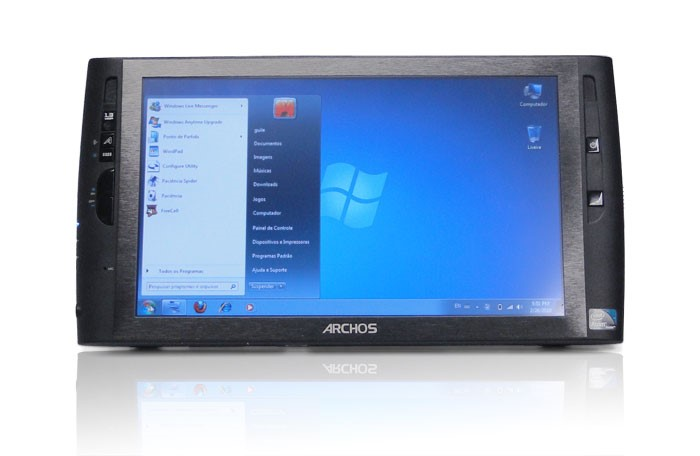 Ta blet da Archos com Windows 7
