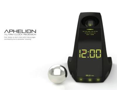 Conceito de despertador LED
