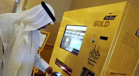 Caixas eletrônicos começam a expelir ouro!