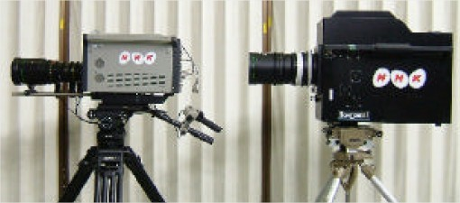 Câmeras compatíveis com a tecnologia Super Hi-Vision