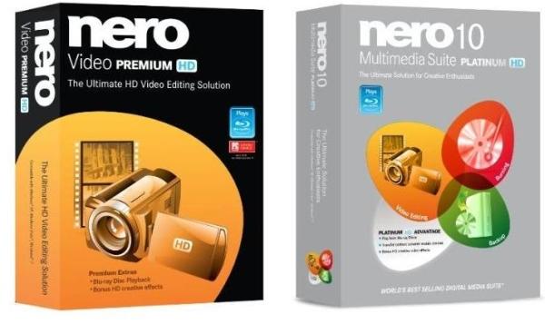 As novas ferramentas de edição de vídeos HD da Nero.