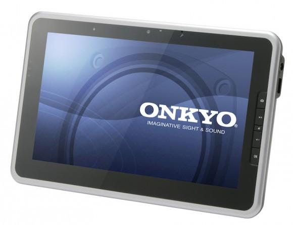 Tablet da Onkyo deve abalar mercado japonês