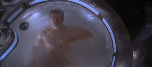 Câmaras de criogenia no filme O Demolidor