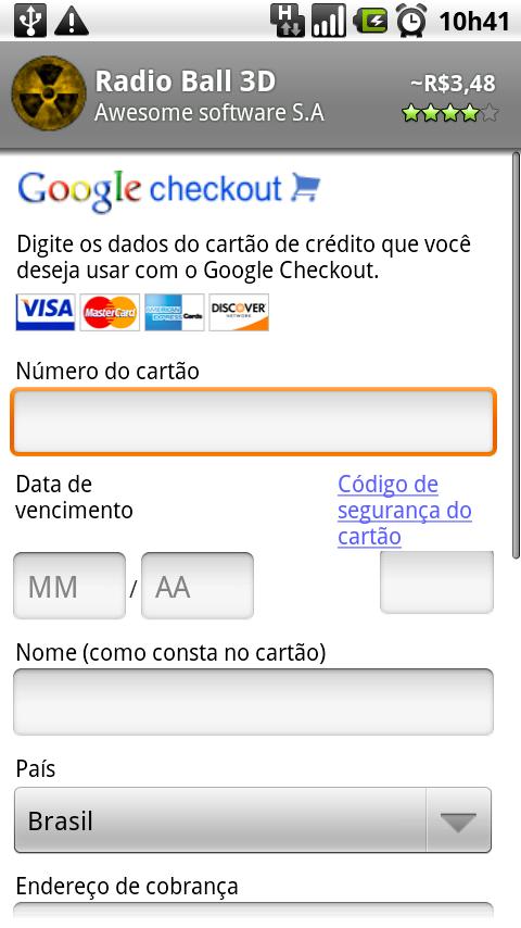Preencha seus dados pessoais para efetuar a compra.