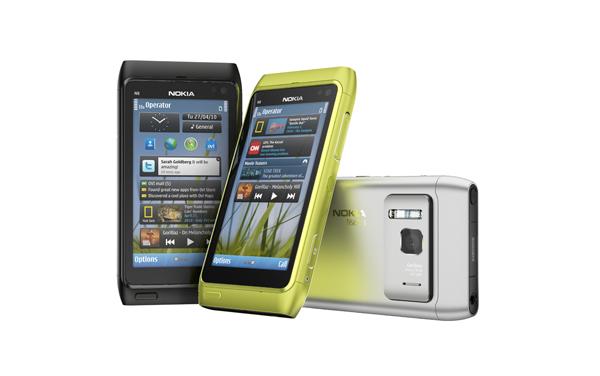 Visual do Nokia N8