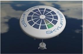 Design de um dirigível na forma de disco achatado