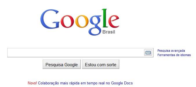 Motor de busca brasileiro