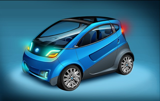 Veículo sustentável, 100% elétrico, é da Plascar