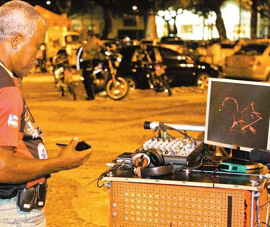 A Devorondina em exposição nas ruas de Salvador.