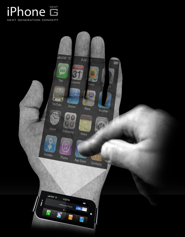 No futuro você irá falar com a mão!