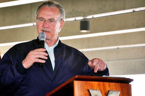 Governador fala sobre os planos futuros