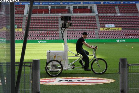 Estádio do PSV em breve será visto em 3D.