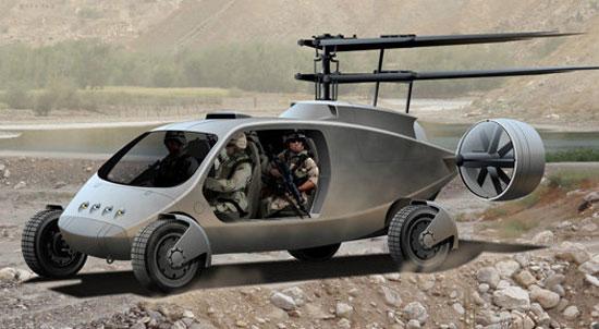 Primeiro conceito do Humvee liberado em julho