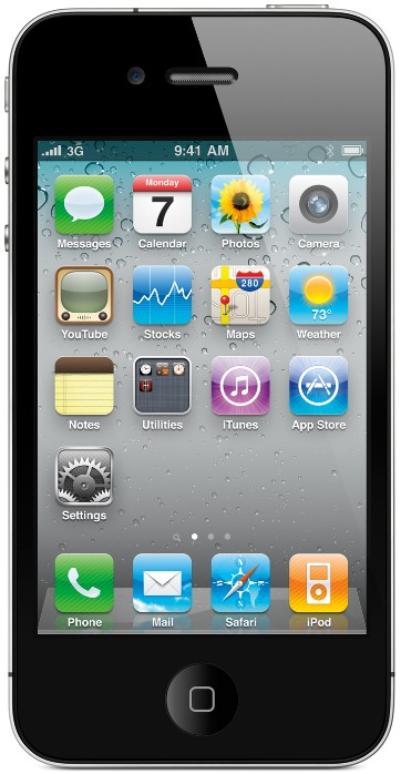 Apple iPhone 4, smartphone com tela capacitiva