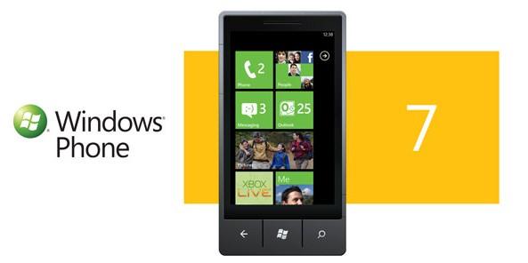 Novo Windows Phone 7 anunciado hoje.