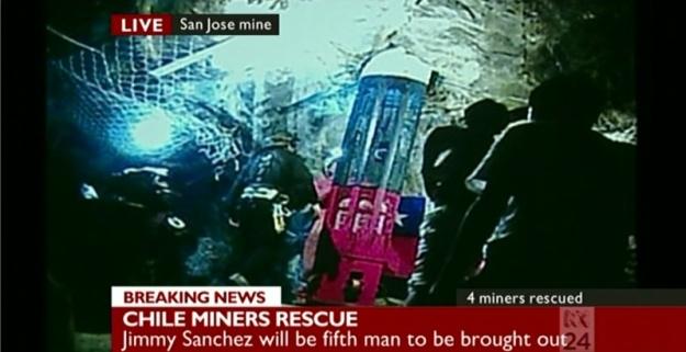 Resgate dos mineiros