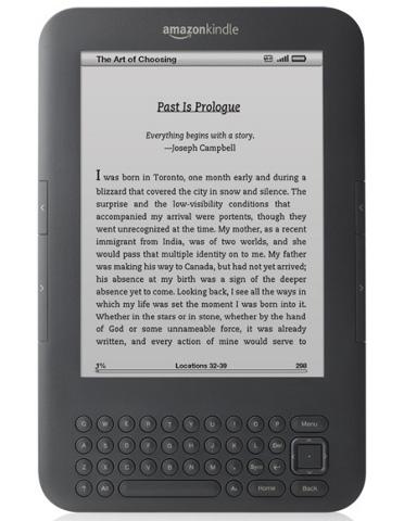 Leitor da Amazon ganhará formato intermediário de textos