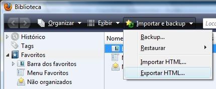 Exportar HTML