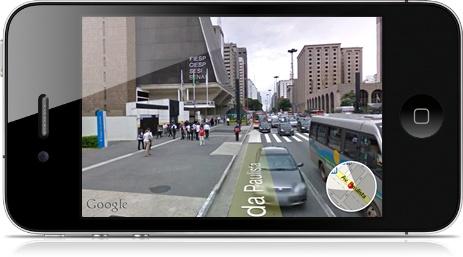 Use o GPS para saber onde está.