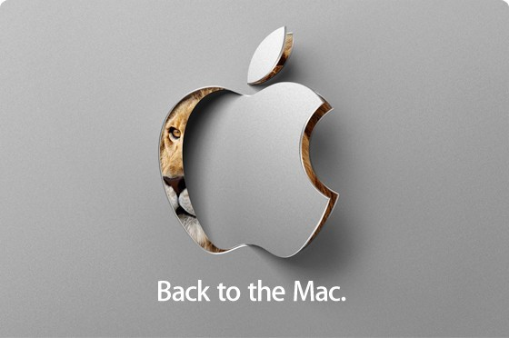 Back to the Mac