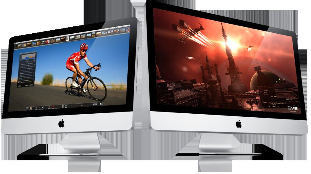 Estariam chegando os iMacs multitouch?